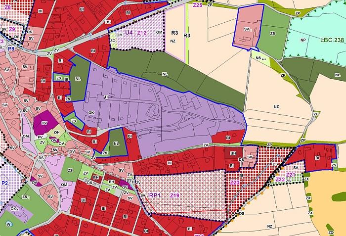 Územní plán koeficienty